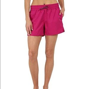 The North Face Class V shorts in fuschia pink